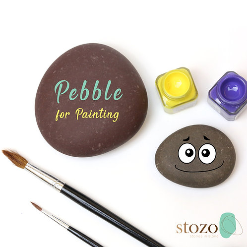 Flat Pebbles - for painting