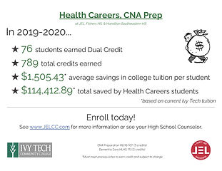 19-20 Dual Credit Poster for Ivy Tech Bo
