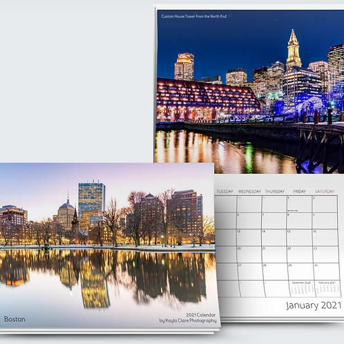 2021 Boston Calendar