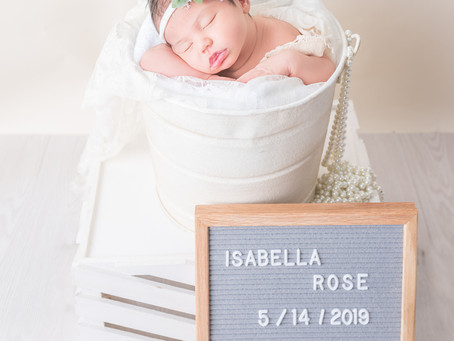 Newborn Session | Isabella Rose