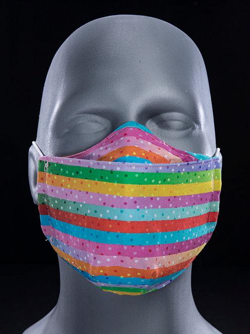 Horizontally Striped Breathable
