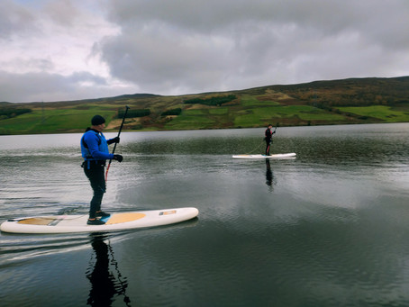 Winter Stand Up Paddleboarding Essentials