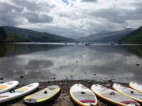 Loch Tay - A Stand Up Paddleboard tale