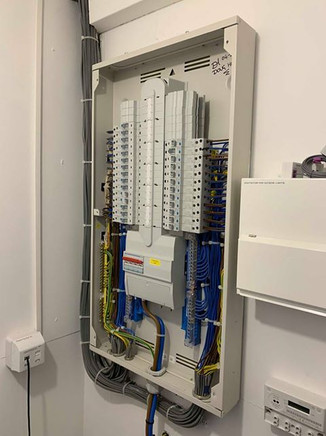 main board electrical installation essex