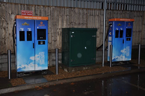 ev chargers for Marstons by Alkag Electr
