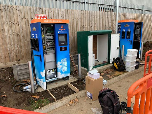ev charger installation for Marstons Res