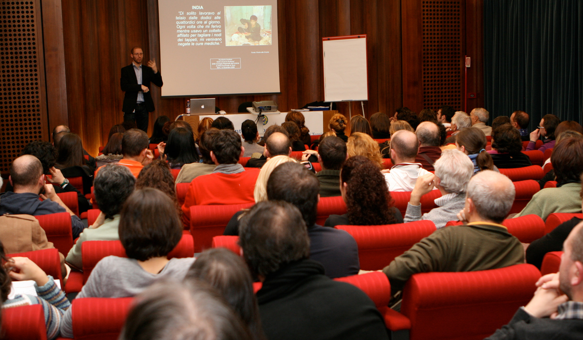 "Presentation ""Human Rights and Audism"" - Terni, Italy - December 2008"