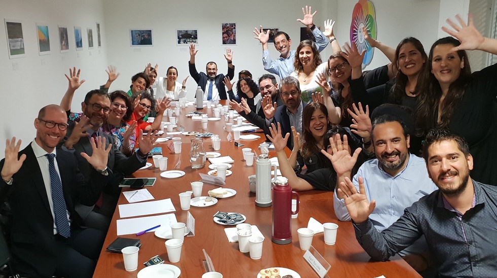 Meeting with the representatives from various ministers, INADI and CAS to exchange actions and public policies developed to promote the accessibility of information and communication for deaf people - November 2018