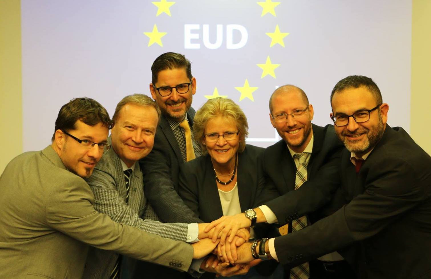 Last day with European Union of the Deaf (EUD) Board and Director - May 2017 - ☝ ⏎