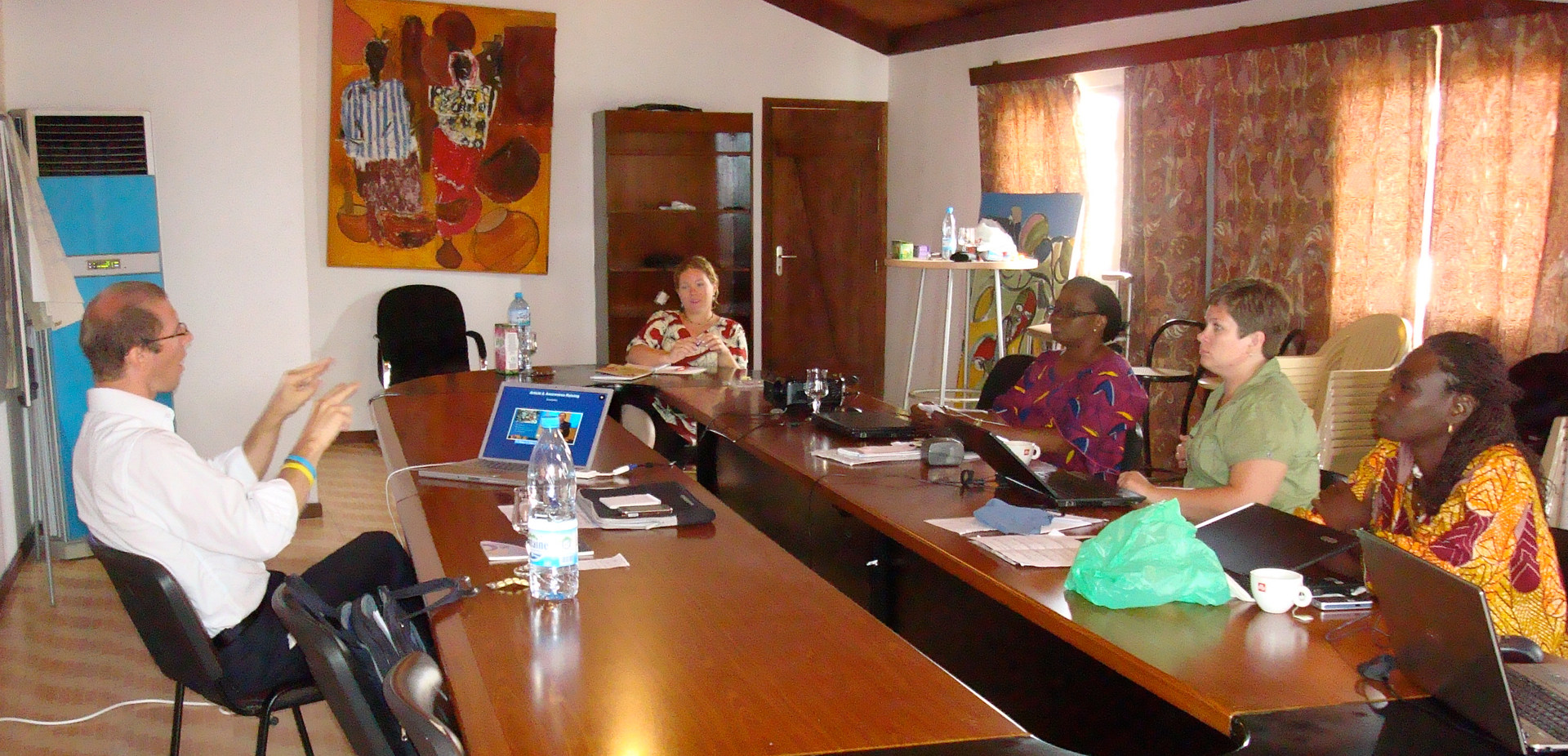 Expert trainer, sent from the WFD, for the Training of Trainers on Human Rights, UN CRPD, International instruments, Advocacy work from European/International perspectives and workshops to the trainers of West and Central Africa - Dakar, Senegal - August / September 2010