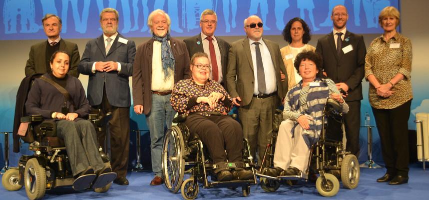 European Disability Forum (EDF) Executive Committee Member - Madrid, Spain - May 2017 - ☝ ⏎