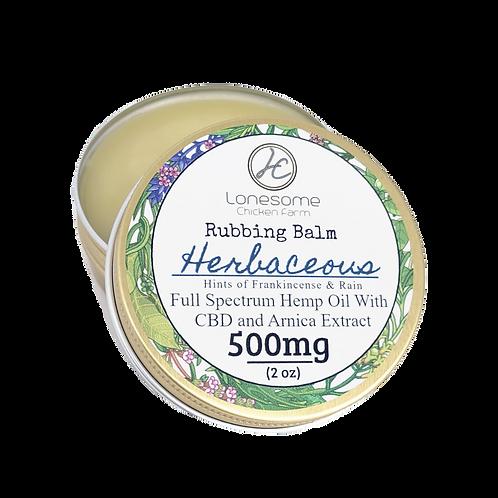 Rubbing Balm ~ Herbaceous