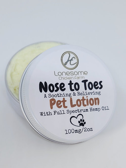 Nose to Toes Pet Lotion