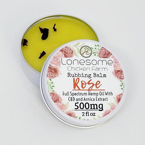 Rubbing Balm ~ Rose