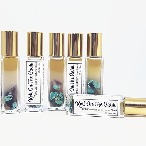Roll On The Calm - CBD Essential Oil Perfume