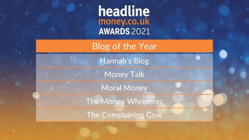 Headline Money 2021 Blog Hannah's Blog