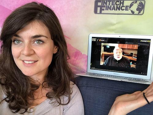 Hannah Duncan Steve Wozniak MoneyFest 20