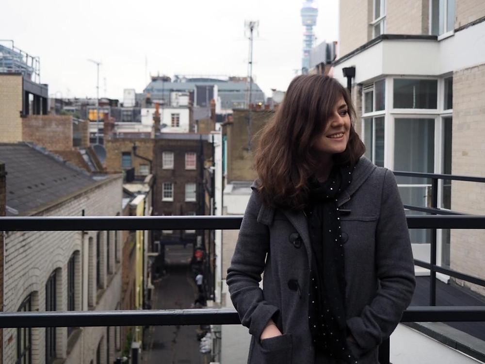 Content Strategist Hannah Duncan, photograph taken by Jennine Bryant
