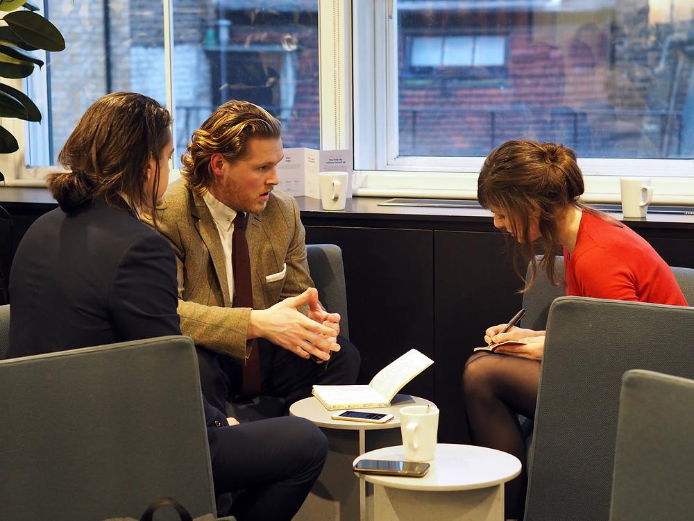 Ethical Compass Management Ben, Jon, Hannah Duncan Investment Management interview London