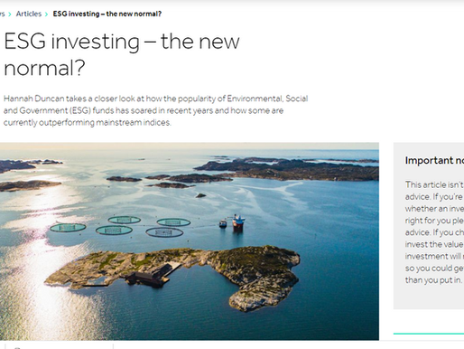 Copywriting for ESG investing 🌿