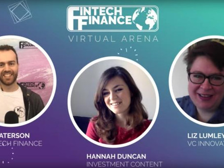 Guest speaker for The Fintech Finance Virtual Arena