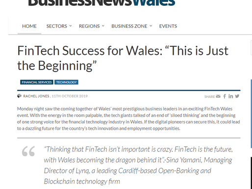 Writing for newspapers as a fintech journalist
