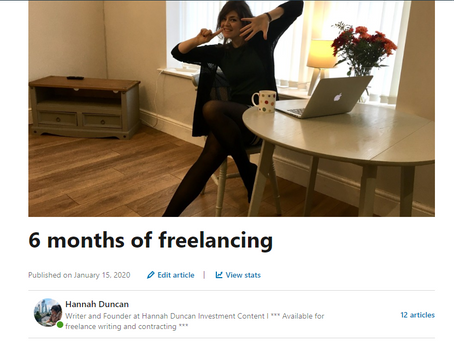Confessions of a copywriter: 6 months of freelancing
