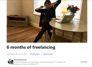 Copywriter, Hannah Duncan Investment Content