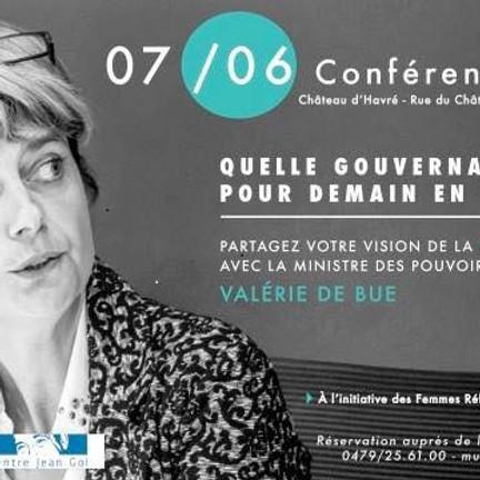 Conférence-débat avec Valérie De Bue