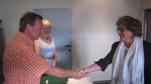 Fabienne Hannotte a prêté serment comme conseillère CPAS