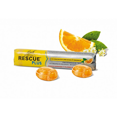 RESCUE PLUS bonbony s vitaminy