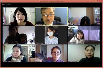 webセミナー参加者のスクリーンショット
