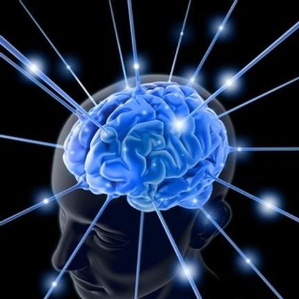 脳が活性化しているイメージイラスト