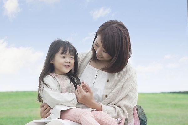 ママと子供の幸せな風景