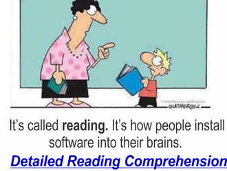 Needing Improved Reading?