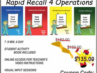 Black Friday- Rapid Recall System