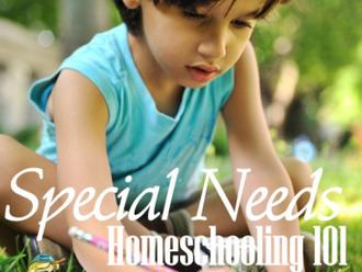 Homeschooling 101 Special Needs