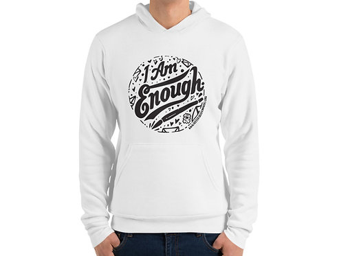 I. Am. Enough. - Super Soft Fleece Pullover Hoodie