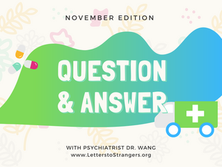 Q & A with a Psychiatrist #3