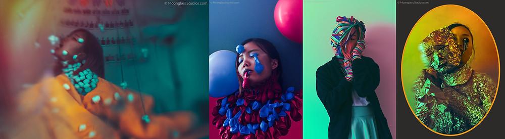 Minority Mental Health photo series by Diana Chao