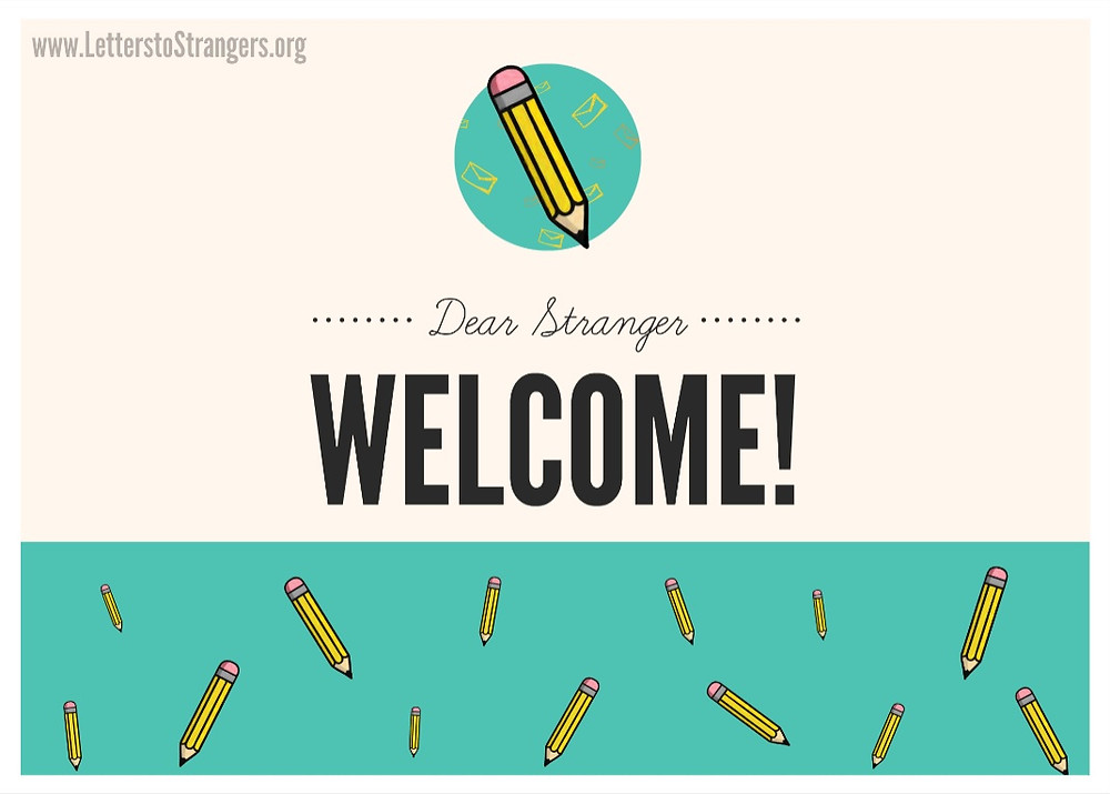 Welcome to the Letters to Strangers blog