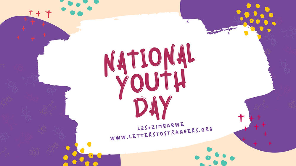 National Youth Day blog header graphic
