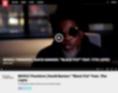 REVOLT TV / DAVID BANNER BLACK FIST