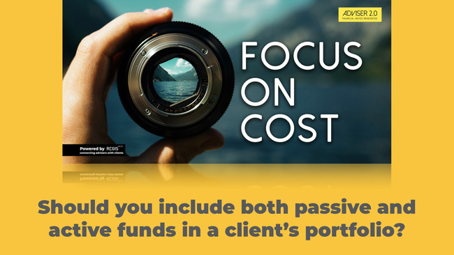Should you stick to index funds, or can you justify a blended approach?