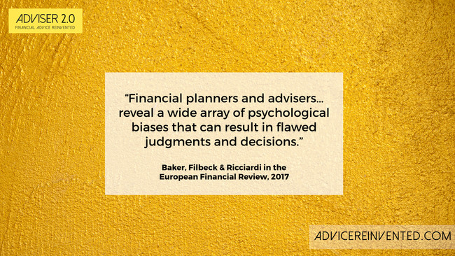 Five ways in which adviser behaviour negatively impacts clients