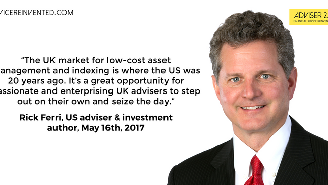 Would today's adviser please step forward?