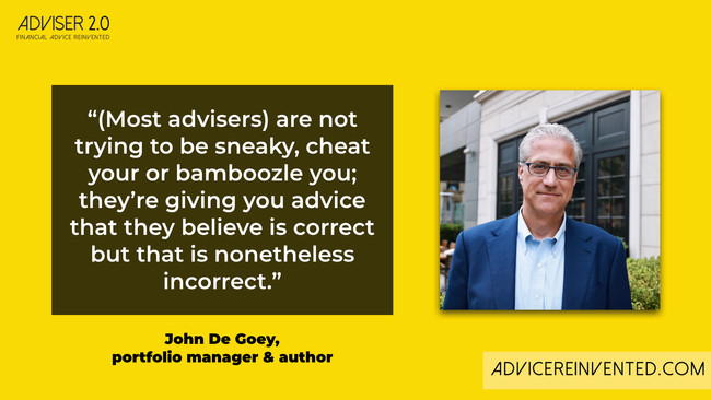 John De Goey: Bad advisers are mostly misguided, not conflicted