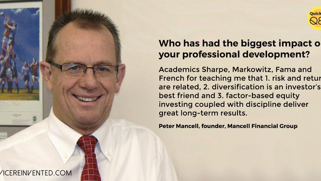 Quickfire Q&A —Peter Mancell from Mancell Financial Group