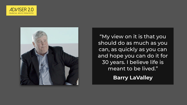 Rethinking retirement with Barry LaValley