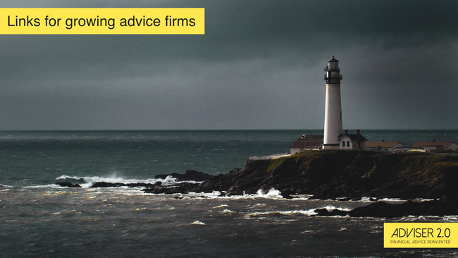 Advisers need to take their own advice